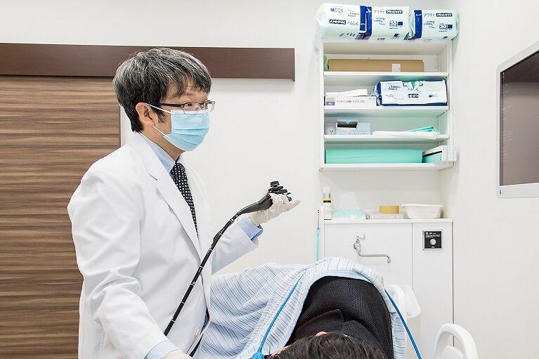 内視鏡専門医による丁寧な検査と正確な診断